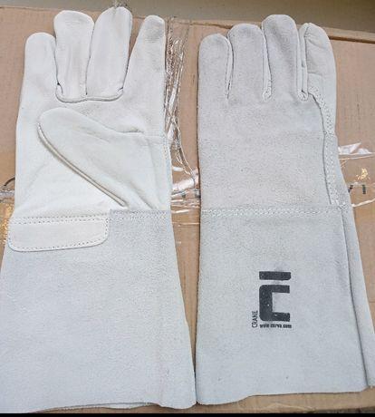 Перчатки ,рукавици рабочие краги кожаные Cerva Crane