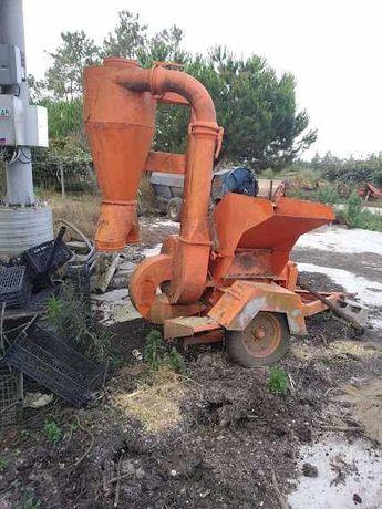 Destroçador biomassa