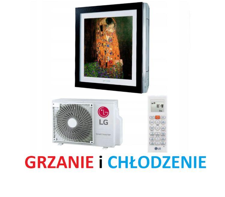 Ogrzewanie klimatyzacja LG ARTCOOL GALLERY 3.5kW montaż klimatyzacji