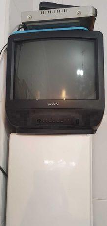 Televisão pequena da Sony