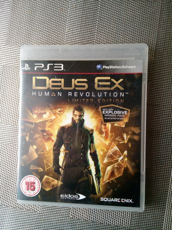 Gra na konsolę ps3 Deus Ex Limited Edition