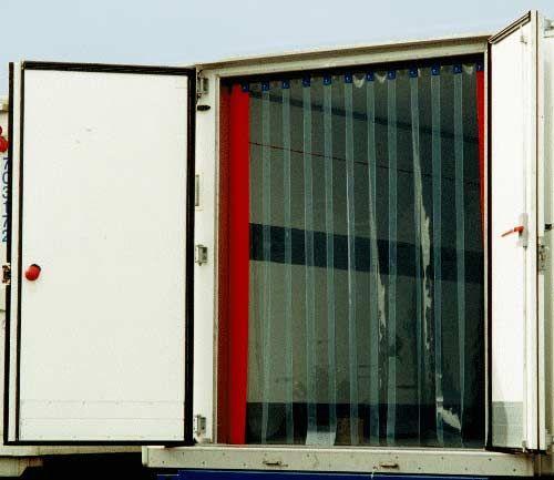 Uszczelnienie izolacja naczepy chłodni kontenera busa kurtyna pcv