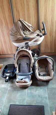 Wózek dziecięcy 4w1