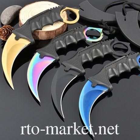 Нож керамбит (коготь, бабочка) не складной(2-х видов(тупой и острый)