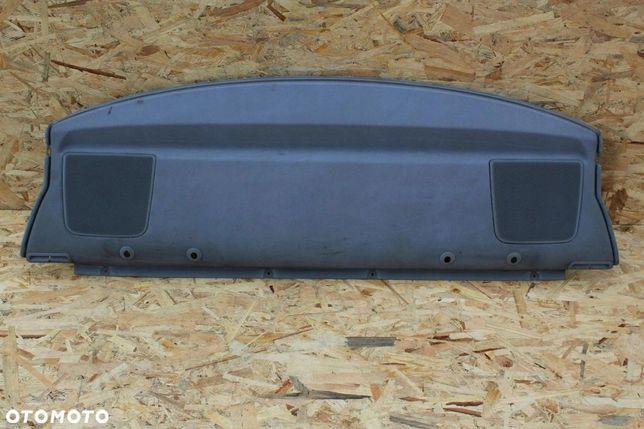 Półka tylna szara BMW e46 coupe z głośnikami