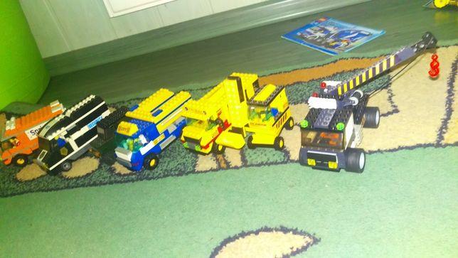 Jak lego ! Zestaw pojazdów .Podróby lego !