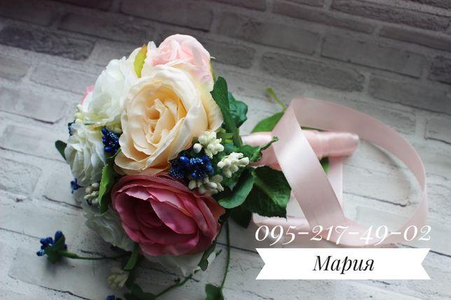 Свадебный букет муляж, свадебный букет, букет невесты, свадебный декор