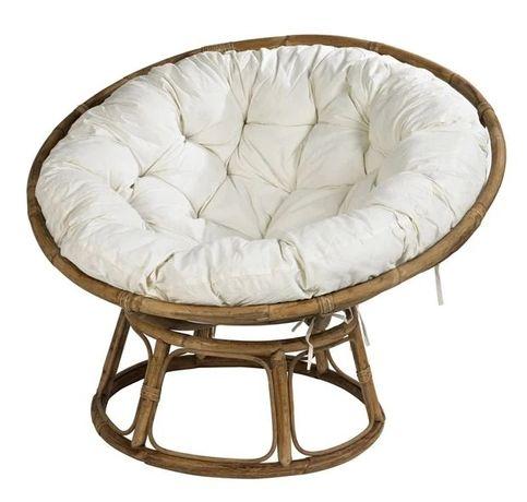 Cadeira lounge natural