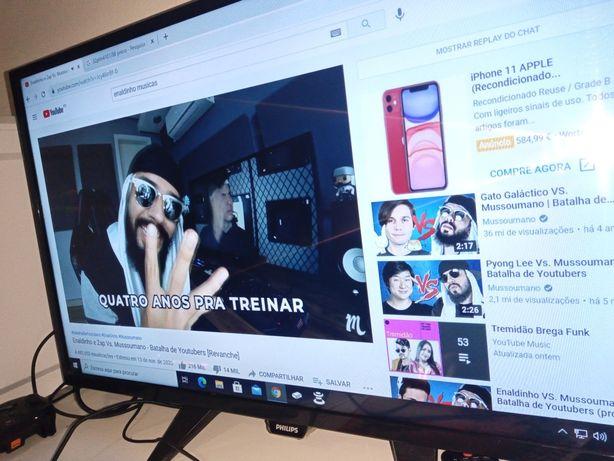 "TV led Philips ultra fino 32"""