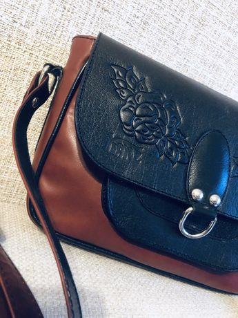 Милая сумочка, натуральная кожа. Ручная работа
