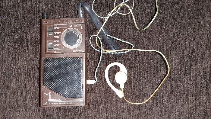 Радиоприемник Олимпик-402 с наушником ссср Запорожье - изображение 1