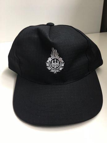 Czapka z daszkiem z logo OSP