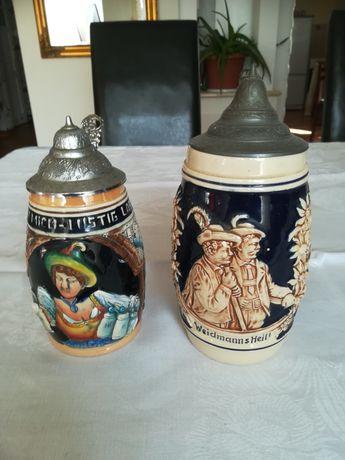 Kufle kolekcjonerskie niemieckie.