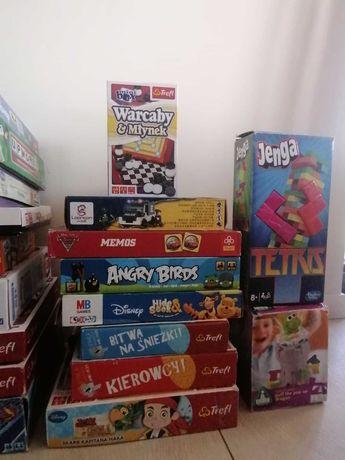 Gry, Klocki Lego, Trefl, Clementoni, MB Games, ELC,