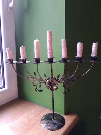 świecznik - menora