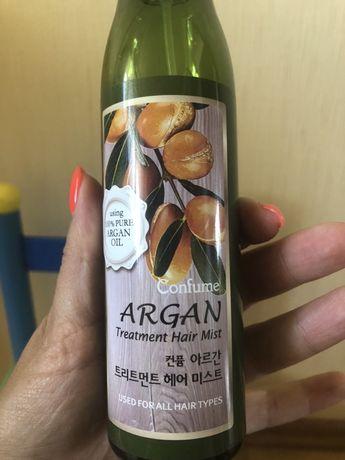 Спрей для волос с аргановым маслом Корея