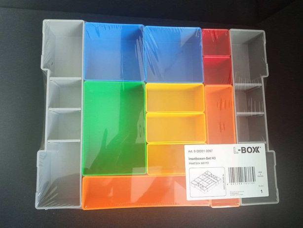 Комплекты  вкладышей  для ящика 102  BOSCH   L-BOXX