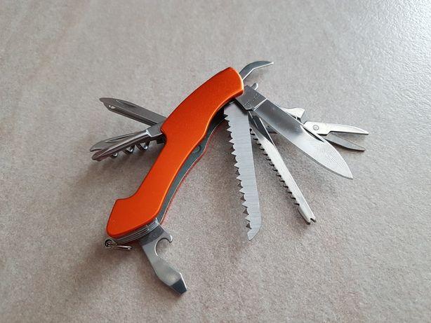 Scyzoryk nóż 10 elementów NOWY