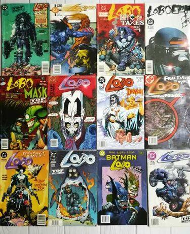 Duży zestaw komiksów z LOBO plus gratis