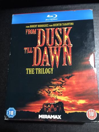 Trilogia From Dusk till dawn DVD Blueray