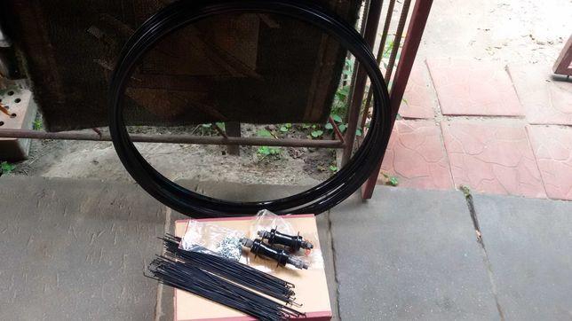 Колёса, вело обода пистонированные  28* дюймов усиленные, на 32 спицы