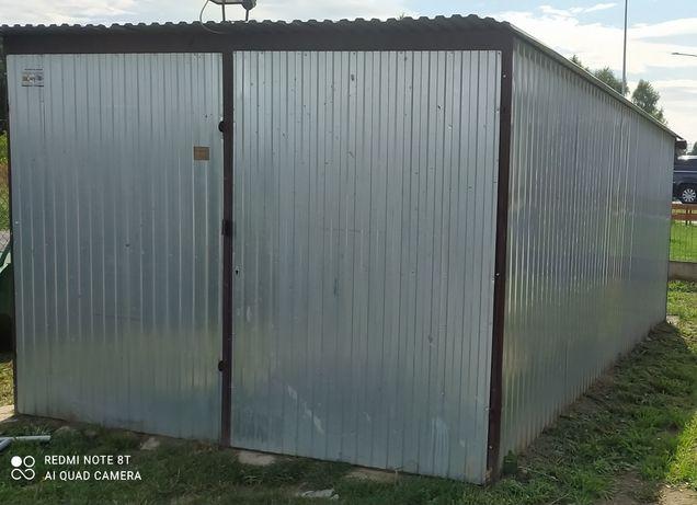 Garaż blaszany 3x5 blaszak