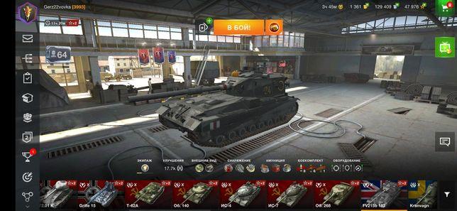 Аккаунт wot blitz, world of tanks blitz
