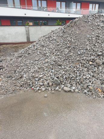 Kruszonka betonowa kruszywo hutnicze Żużel 0-80mm Gruz kruszony 19zl/t