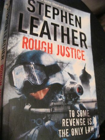 stephen leather rough justice детектив книга триллер английский Лизер