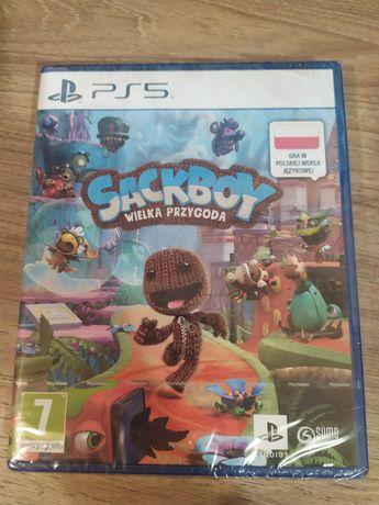 Sackboy: Wielka Przygoda gra na PS5 FOLIA