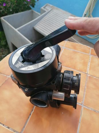 Válvula de filtro piscina