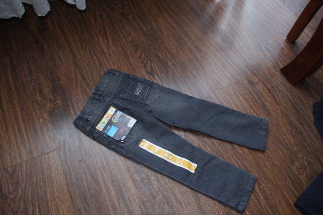 spodnie 104 slim nowe