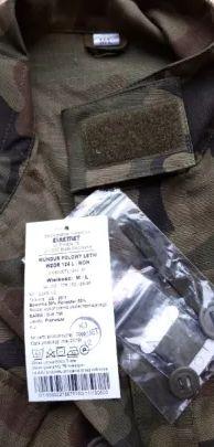 mundur 124L wojskowy nowy wzór M/L