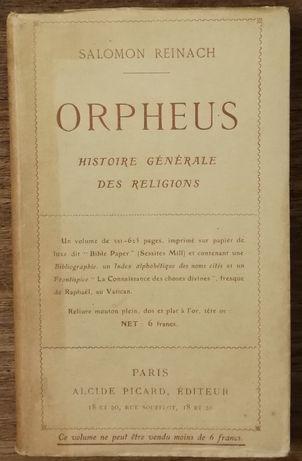 salomon reinach, orpheus, histoire générale des religions