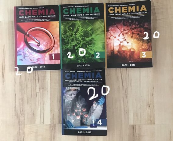 Chemia! Książki i pomoce naukowe do matury
