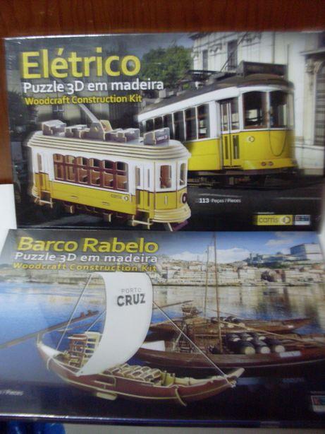 Puzzle Eléctrico de Lisboa, barco rabelo