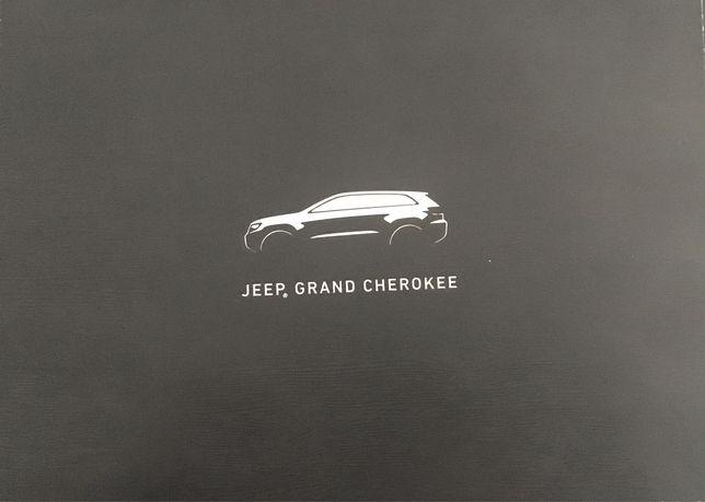 Prospekt - folder - Jeep - polecam !!!