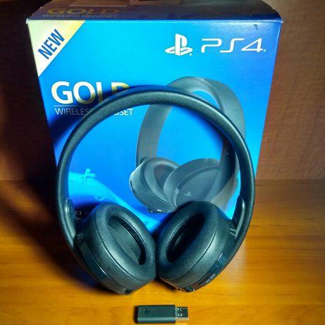 Продам наушники Sony Wireless Headset Gold