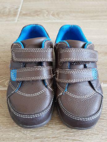 Кожаные кроссовки, кеды Clark's светящиеся