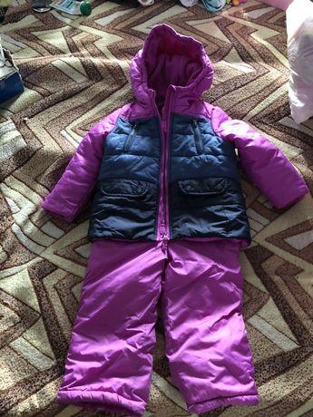 Зимний костюм Oshkosh ( комбинезон и курточка)