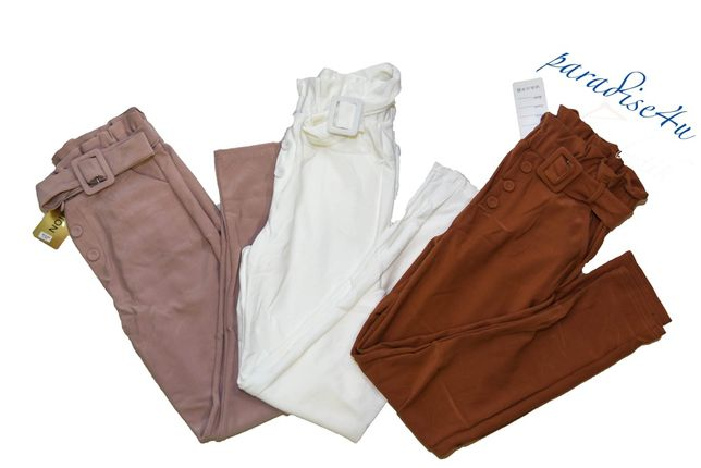Spodnie smietankowe UNIWERSALNE