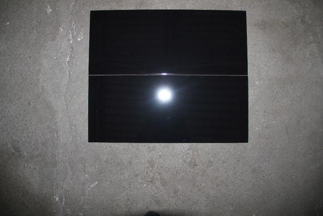 Płytki Ścienne Podłogowe Ceramiczne Gres Czarna Błyszcząca 25x60
