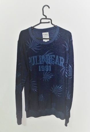 Camisola Pull & Bear Azul-Escuro
