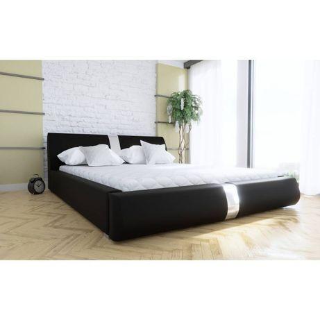 Łóżko tapicerowane 160x200 STELAŻ METALOWY + pojemnik na całość ! HIT