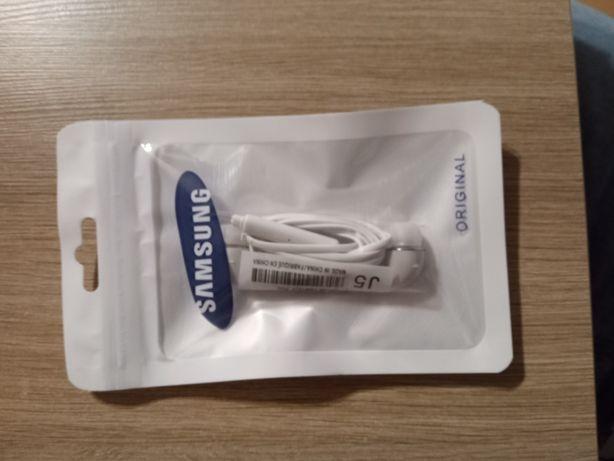 Słuchawki douszne z mikrof. pasują do Samsung J5 nowe wysyłka od 3.3zł