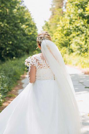 весільна сукня 52-56 р