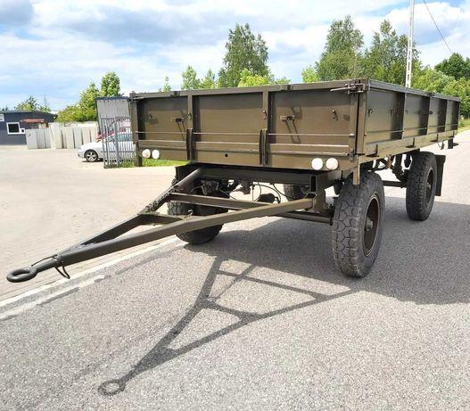 Przyczepa wojskowa D-46 Autosan sztywna