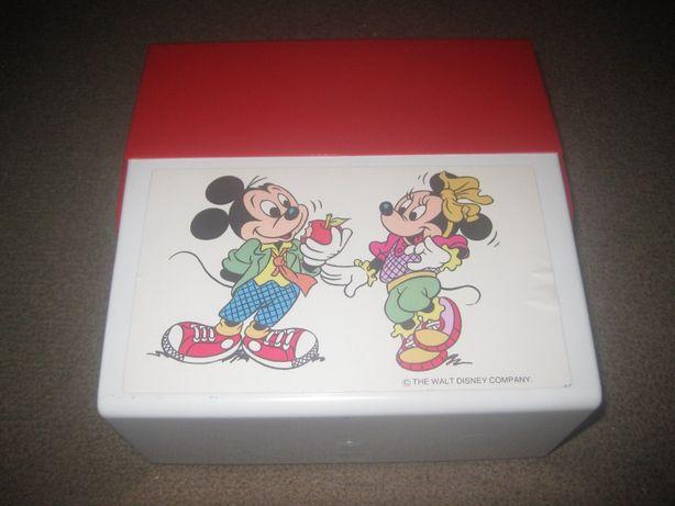 """Lancheira """"Mickey e Minnie"""" Nova!"""