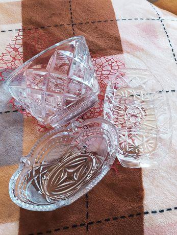 Хрустальная ваза 2 шт