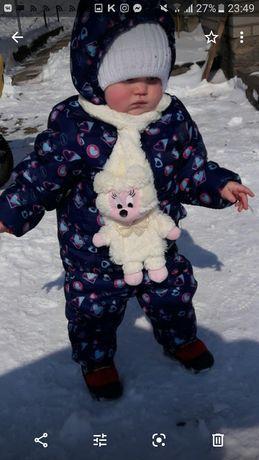 Зимовий комплект на дівчинку